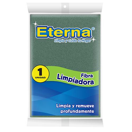 ESPONJA FIBRA ABRASIVA LIMPIADORA