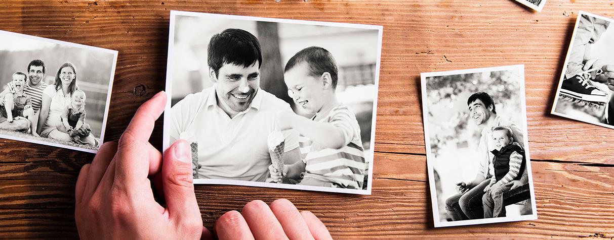 Deja que los cuadros familiares cuenten historias Aseo